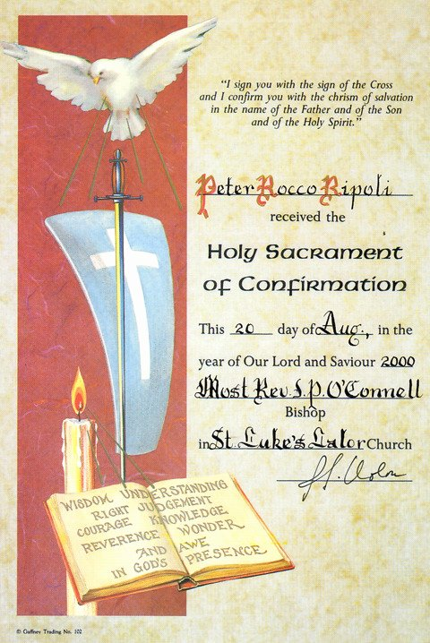 Confirmation Certificate Template Catholic Best Of Certificate Of Analysis Template