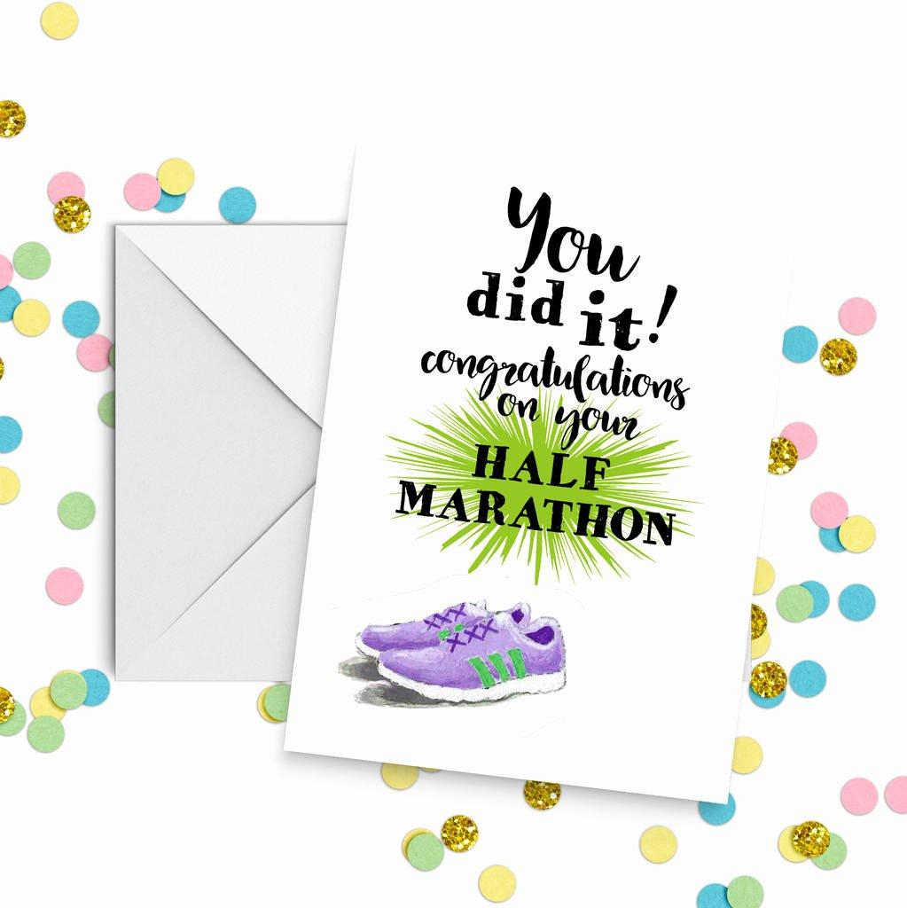 Congratulations Images for Achievement Beautiful Running Congratulations Achievement Card by Giddy Kipper