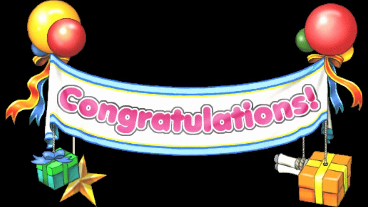 Congratulations Images for Achievement Inspirational [maplestory Bgm] Congratulations