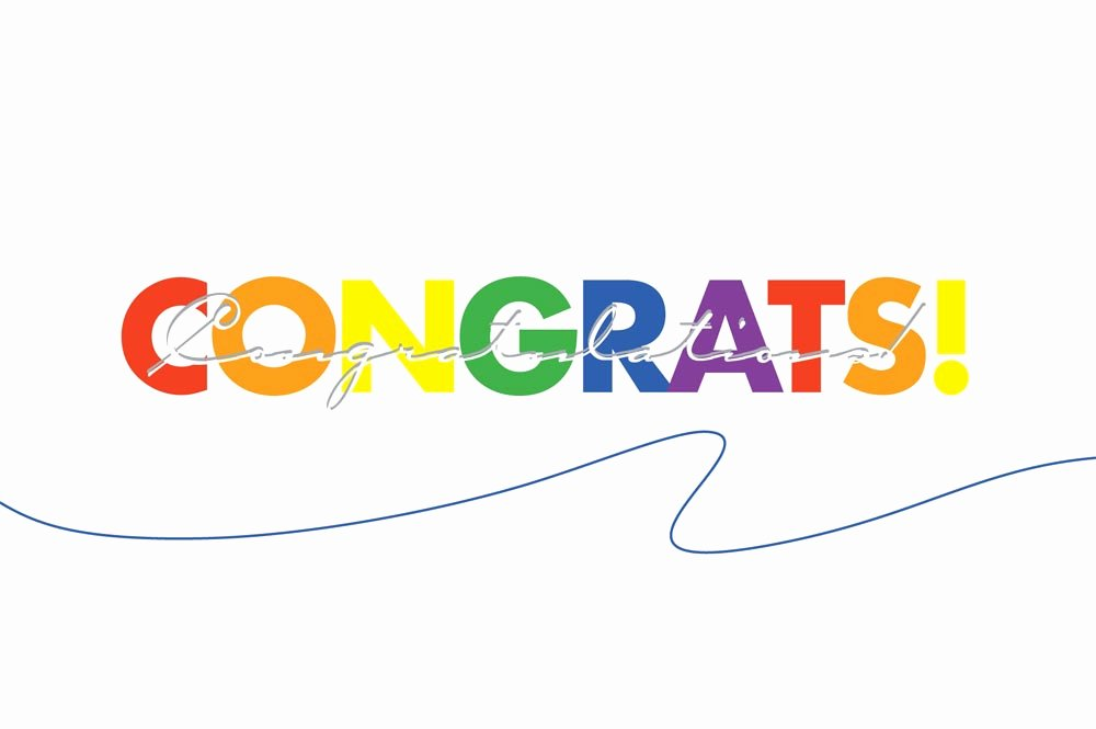 Congratulations Images for Achievement Lovely Colorful Congratulations Postcard Achievement by Brookhollow