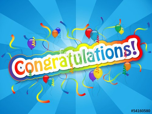 "Congratulations Images for Achievement Lovely """"congratulations"" Card Well Done Achievement Good Job"