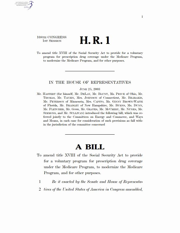 Congress Bill format Awesome Bill United States Congress