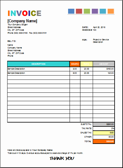 Congress Bill format Awesome Pin by Alizbath Adam On Microsoft Excel Invoices