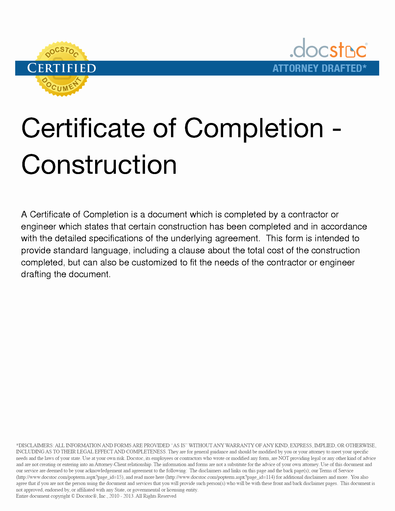 Construction Certificate Of Completion Template Beautiful Work Pletion Muzssp X Fc2