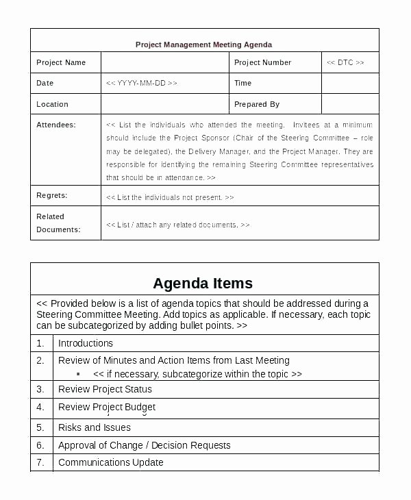 Construction Project Meeting Minutes Template Beautiful Project Meeting Minutes Template