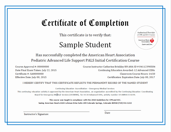 Continuing Education Certificate Template Awesome 37 Free Certificate Of Pletion Templates In Word Excel Pdf