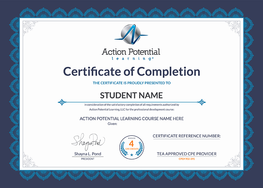 Continuing Education Certificate Template Best Of Continuing Education for Teachers