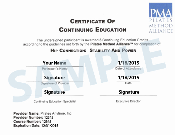Continuing Education Credit Certificate Template Beautiful Pma Continuing Education Credits