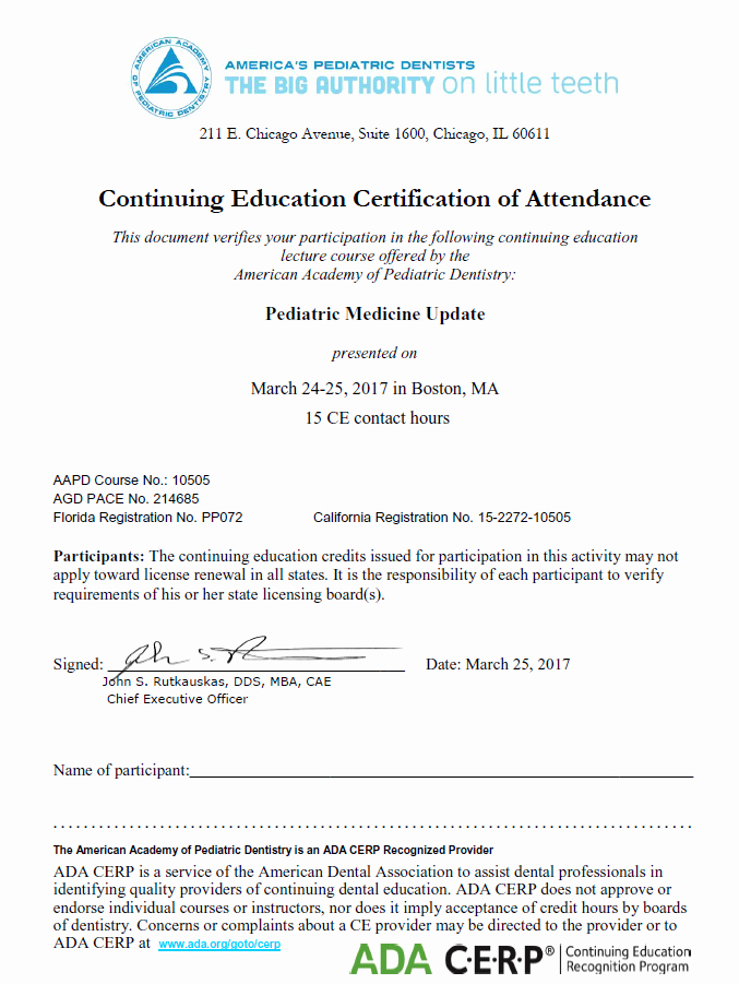 Continuing Education Credit Certificate Template Unique Website Features