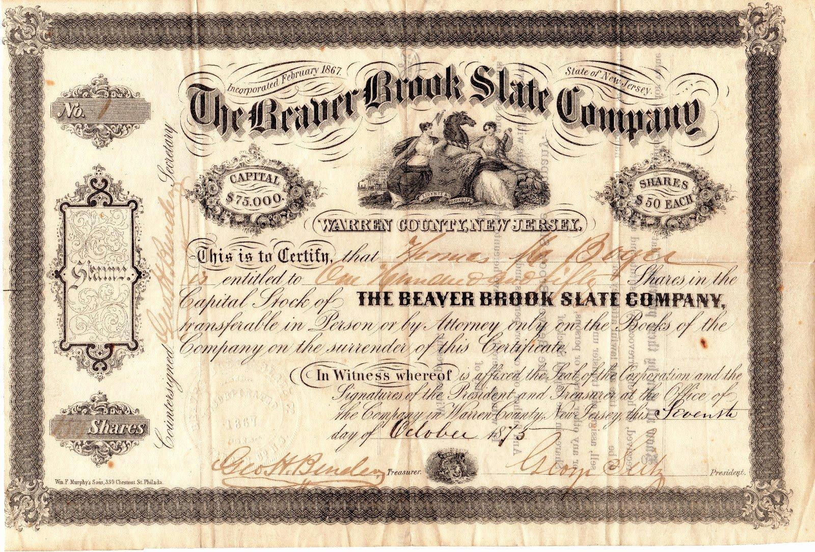 Corporate Bond Certificate Template Beautiful Template for Certificate