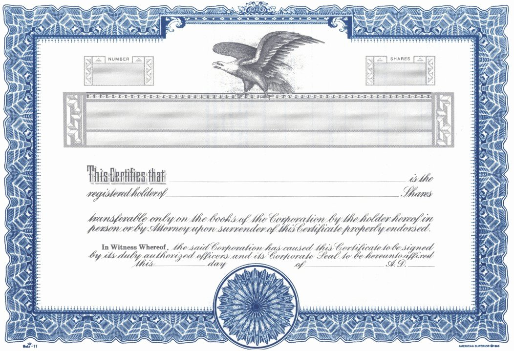 Corporate Stock Certificate Template Word Luxury Duke 11 Stock Certificates
