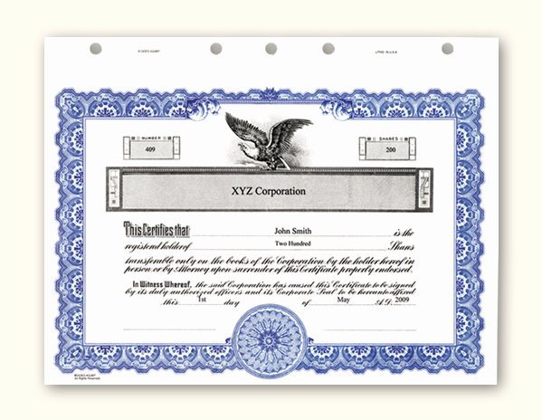 Corporate Stock Certificate Template Word Unique Stock Certificate Template Microsoft Word
