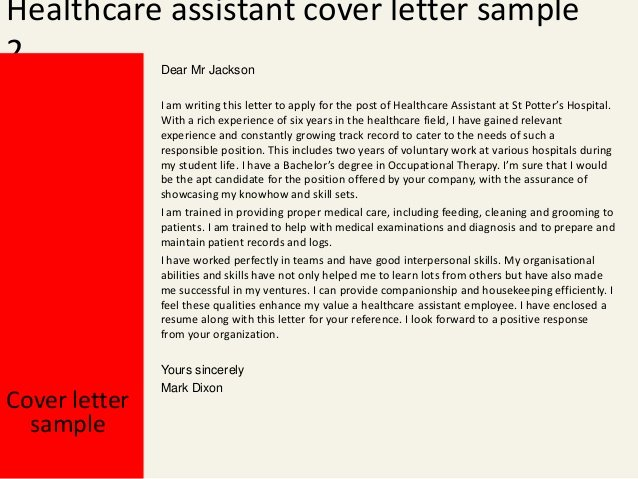 Cover Letter for Medical assistant Student New Healthcare assistant Cover Letter