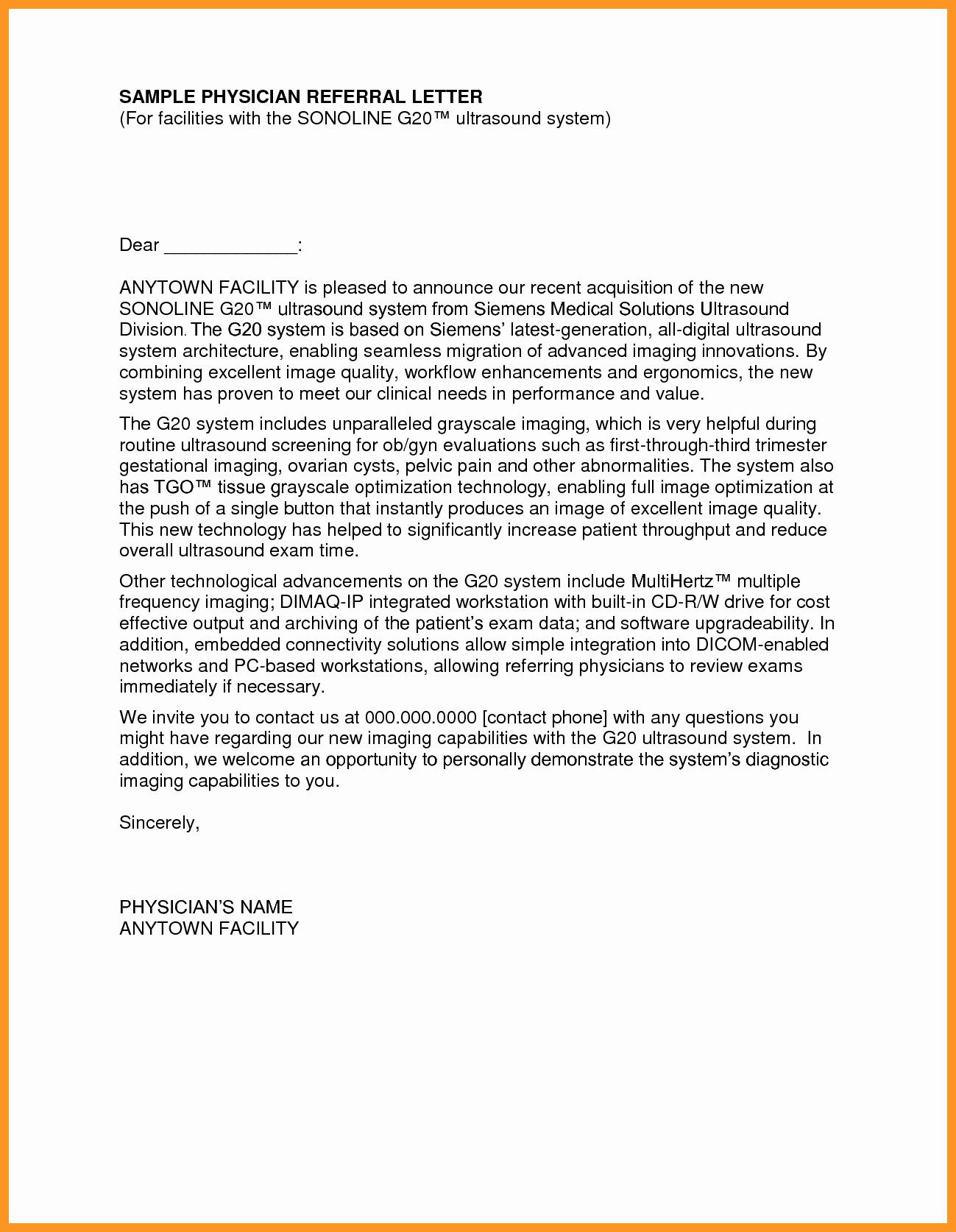 Cover Letter for Medical School Elegant Re Mendation Letter Medical School