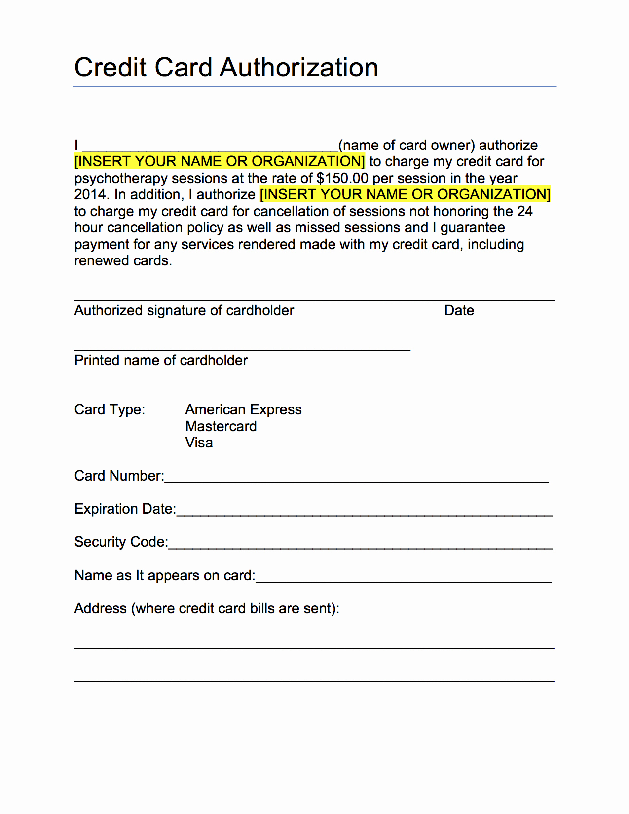 Credit Card Auth form Awesome Ps form 3971 Fillable Keywordsfind