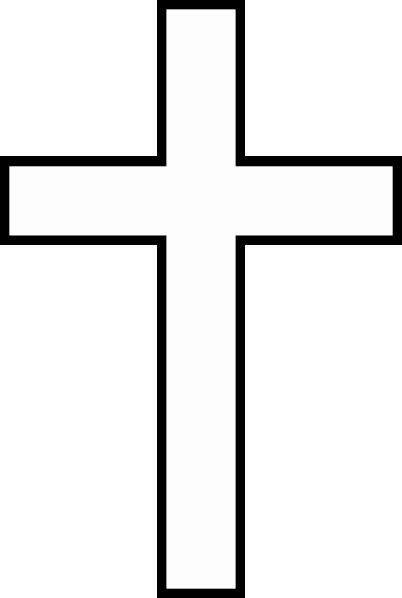 Cross Template Printable Free Elegant Cross Template Clip Art at Clker Vector Clip Art