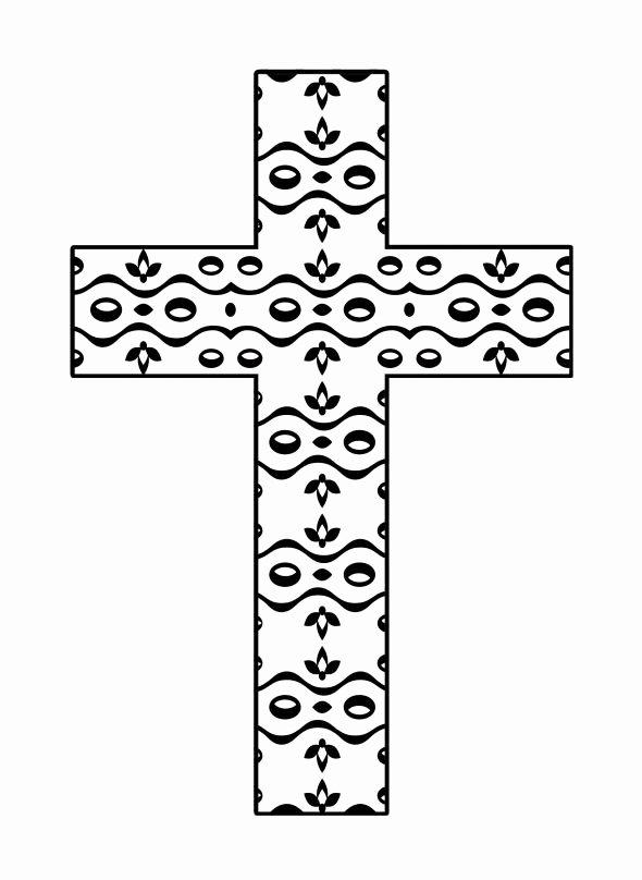 Cross Template Printable Free Inspirational Printable Cross Template Clipart Best