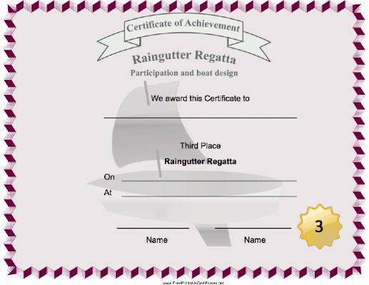 Cub Scout Award Certificate Template Inspirational Pin On Cub Scout Raingutter Regatta