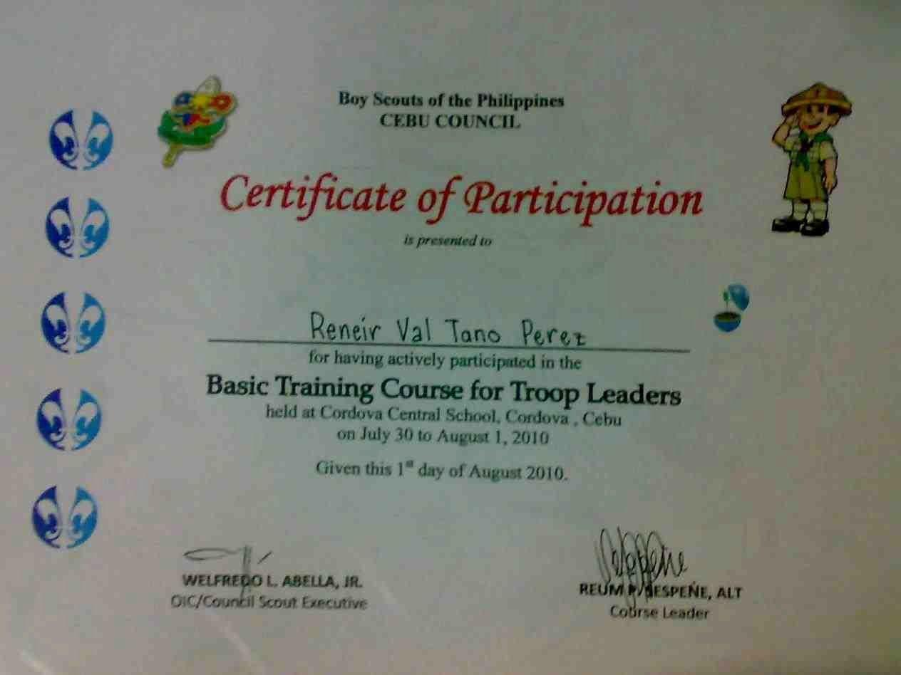 Cub Scout Graduation Certificate Template Elegant Certificate Appreciation Template Boy Scouts