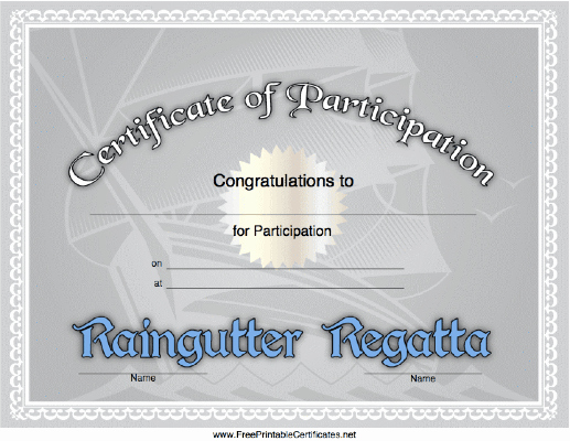 Cub Scout Graduation Certificate Template Lovely A Tall Ship forms the Background Of This Raingutter