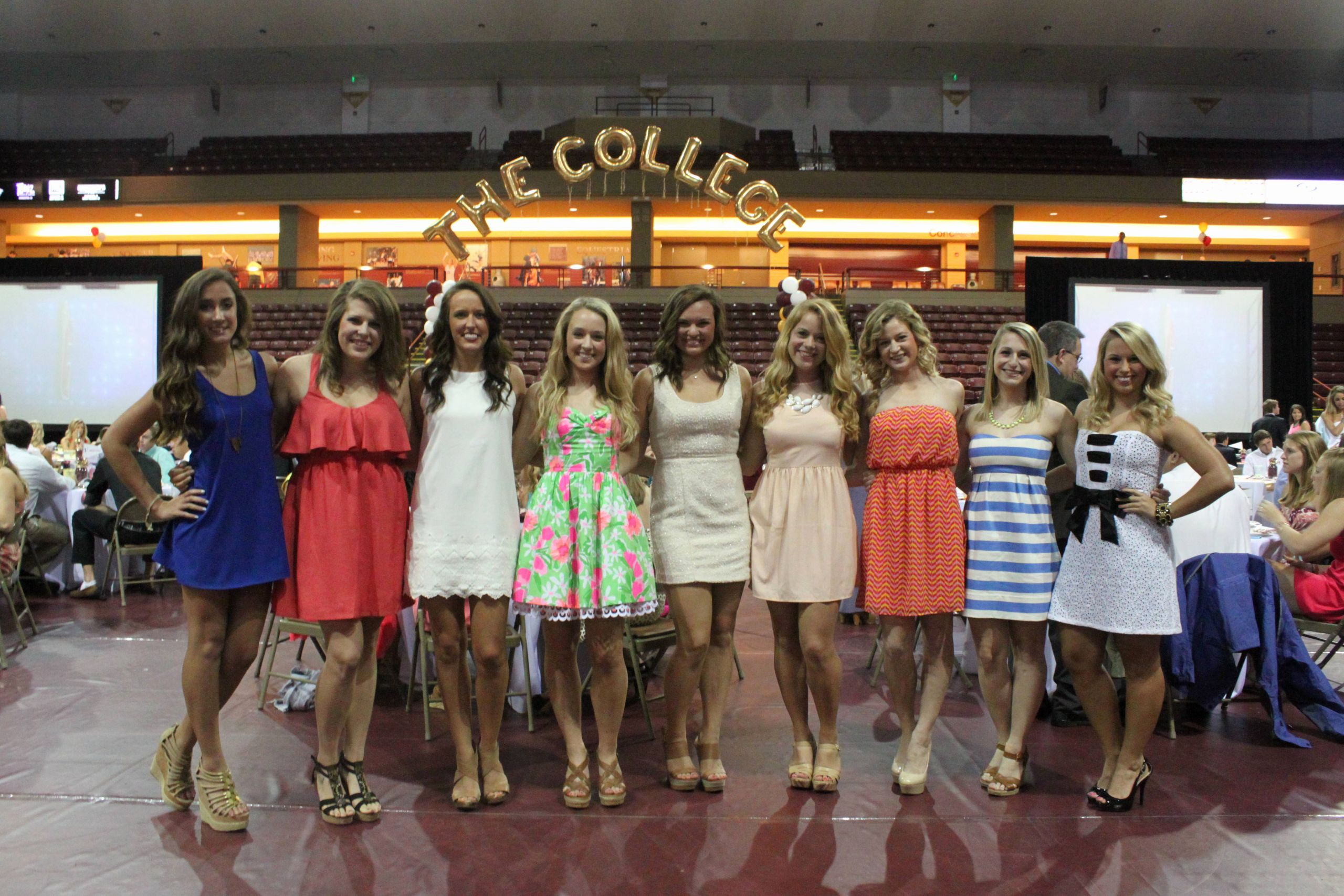 Dance Team Banquet Award Ideas Best Of Cofc athletics Sports Banquet Honors Seniors Team Award
