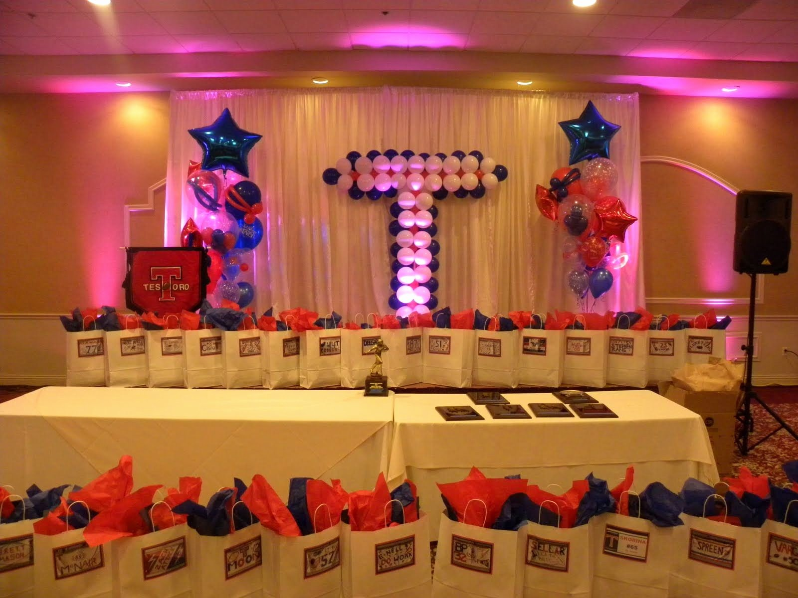 Dance Team Banquet Award Ideas Elegant Home Ing or Banquet Decorations
