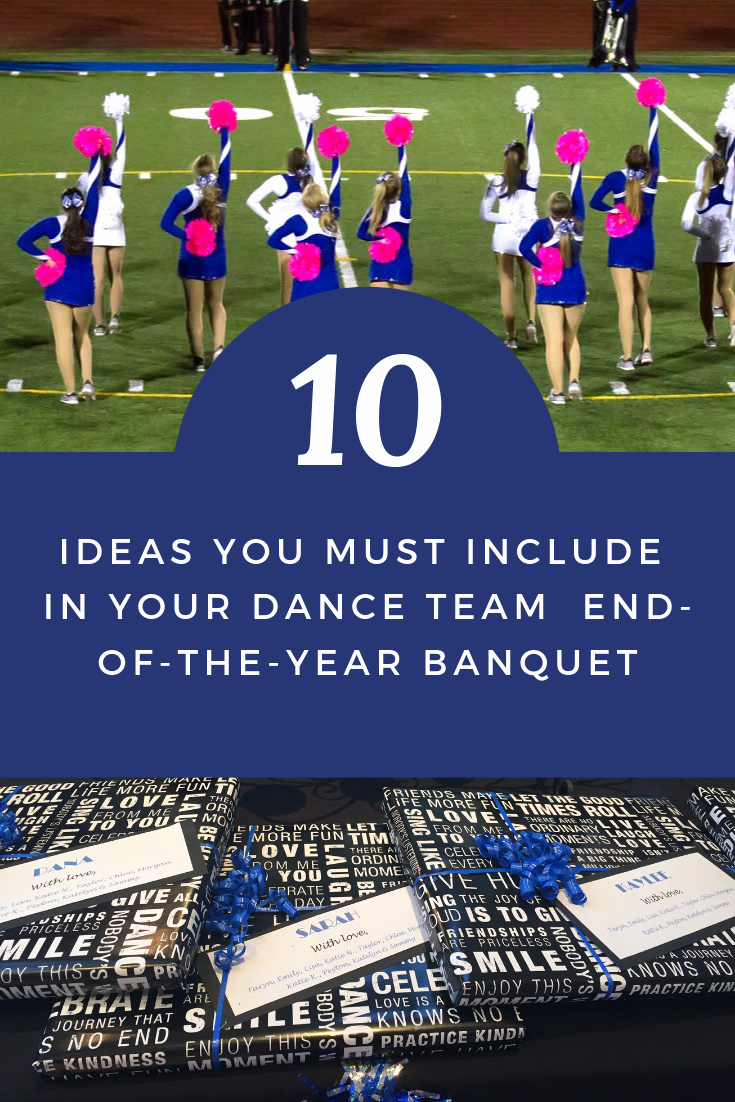 Dance Team Banquet Award Ideas Luxury 10 Ideas to Include In Your End the Year Banquet