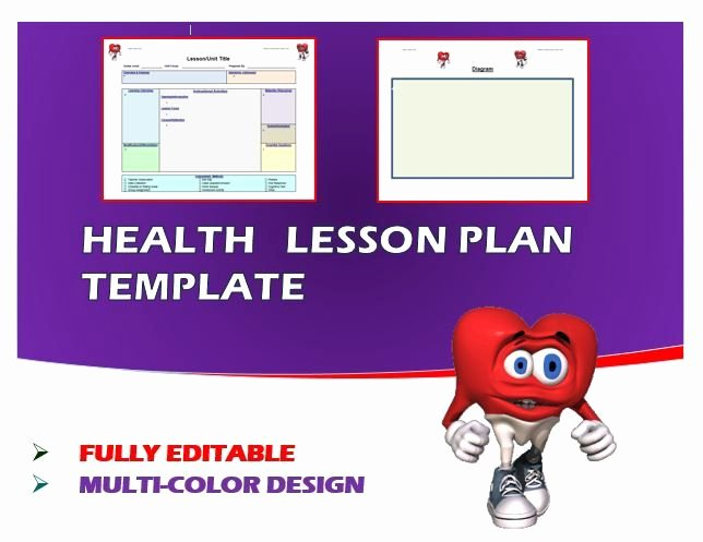 Dcps Lesson Plan Template Beautiful 18 Best Ideas About Cap N Pete S Health Tpt Products On
