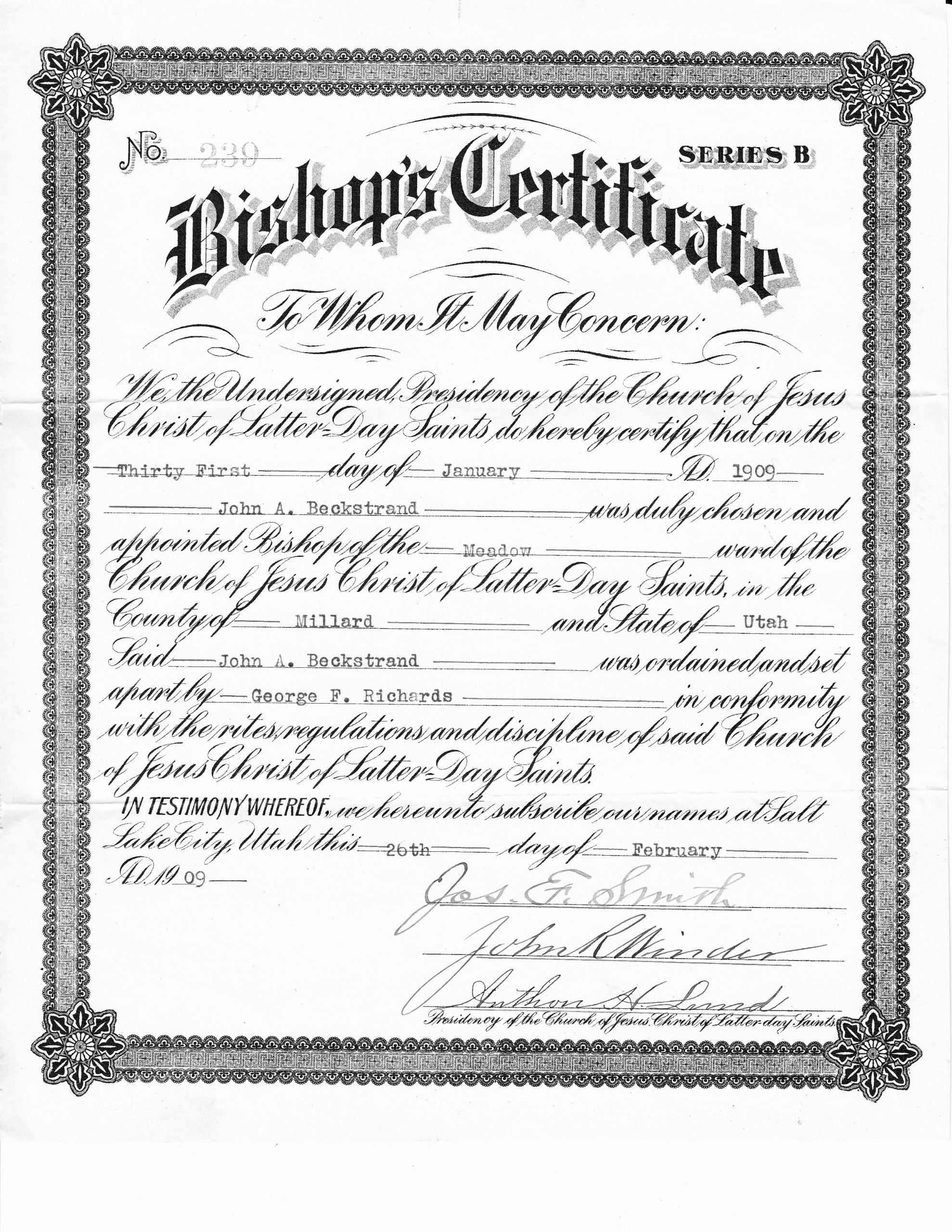 Deacon ordination Certificate Template Fresh Best S Of ordained Certificate Printable and Fillable