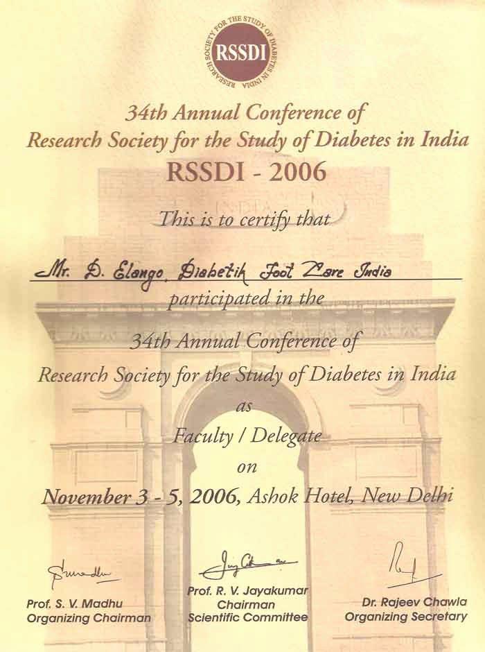 Dealer Participation Certification form Lovely Participation Diabetik Foot Care India Pvt Ltd
