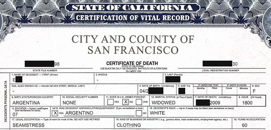 Death Certificate Translation Template Elegant Certified and Notarized Translations In San Francisco Bay