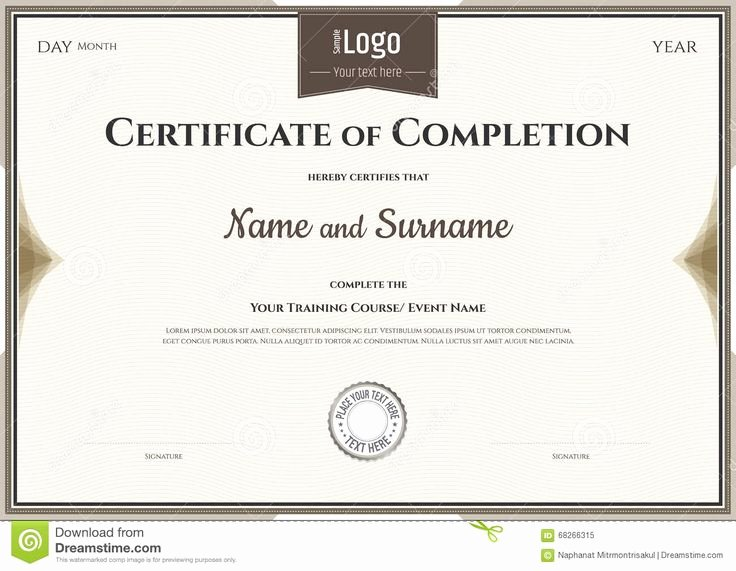 Defensive Driving Certificate Template Fresh 「certificate Of Pletion Template」のおすすめアイデア 25 件以上