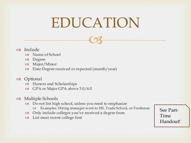 Degree In Progress On Resume Inspirational Resume Workshop
