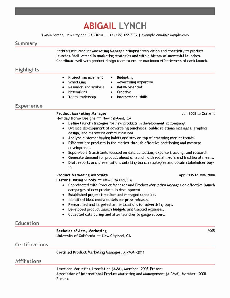 Degree In Progress On Resume New top Mba Resume Samples & Examples for Professionals