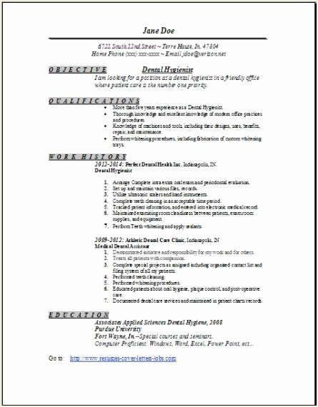 Dentist Cv Sample Pdf Awesome Dental Hygienist Resume Examples Samples Free Edit with Word