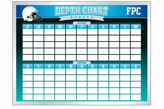 Depth Chart Template Beautiful Depth Chart Boards Football Boards