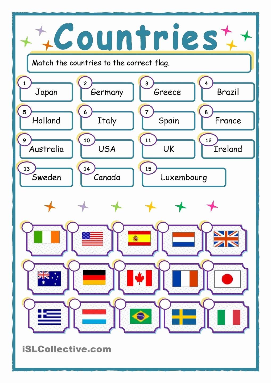 Design Your Own Flag Worksheet Best Of 52 Free Esl Flags Worksheets Vocabulary