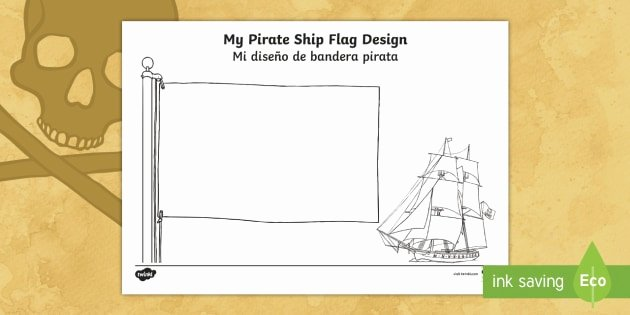 es t t 5218 design your own ship flag activity sheet english spanish