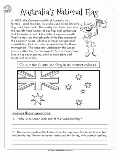 Design Your Own Flag Worksheet Inspirational Teach This Worksheets Create and Customise Your Own