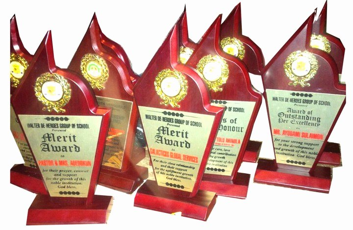 Different Kinds Of Awards Luxury Awards Agriculture Nigeria
