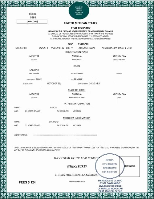 Divorce Certificate Translation From Spanish to English Template Best Of Spanish Birth Certificate Translation 24 Hour