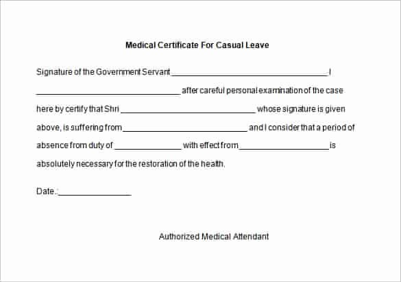 Doctor Certificate for Sick Leave Template Best Of 5 [genuine] Fake Medical Certificate Line
