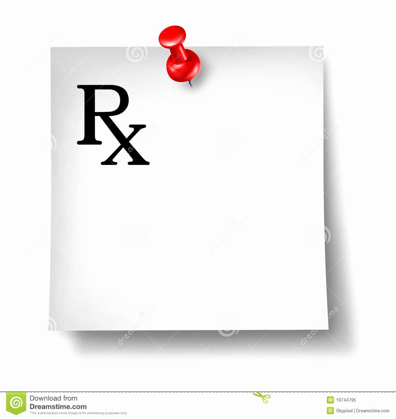 Doctor Prescription Pad Template Awesome Prescription Fice Note isolated Stock Illustration