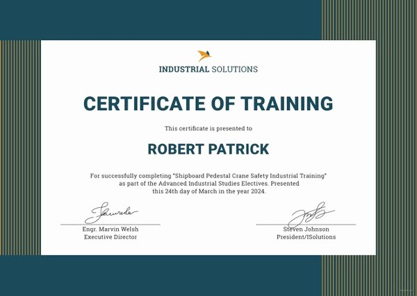 Dog Training Certificate Template Inspirational 27 Training Certificate Templates Doc Psd Ai