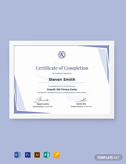Dog Training Certificate Template Lovely 12 Free Training Certificate Templates Word