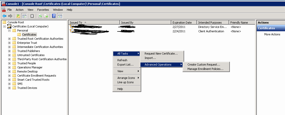 Domain Controller Certificate Template Best Of It S All About Java Enable Ssl Ldaps On Windows 2008