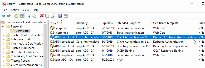Domain Controller Certificate Template Fresh Citrix Federated Authentication Service Saml 1909 – Carl