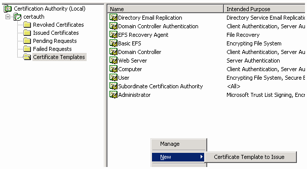 Domain Controller Certificate Template Fresh Configuring Mutual Ssl Authentication Between Proxysg and