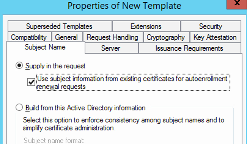 Domain Controller Certificate Template Fresh Creating Custom Secure Ldap Certificates for Domain