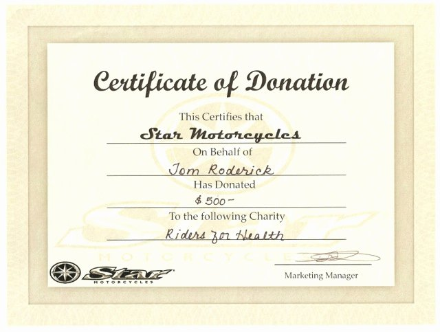 Donation Certificate Template Free Fresh 10 Donation Certificate Templates